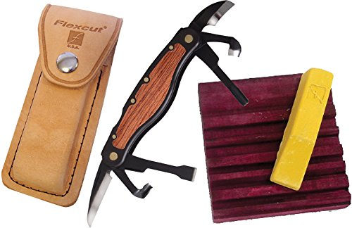 Flexcut Right-Handed Carvin' Jack, Folding Multi-Tool JKN91