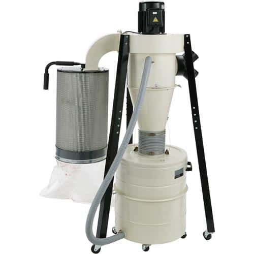 Shopfox W1823 1-1/2 HP Portable Cyclone Dust Collector